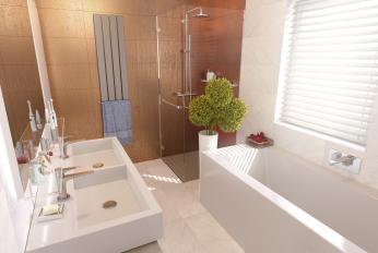 Badezimmer Sonnengarten Haus