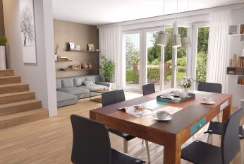 Wohnzimmer Sonnengarten Haus